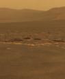 Billede af himlen over Mars